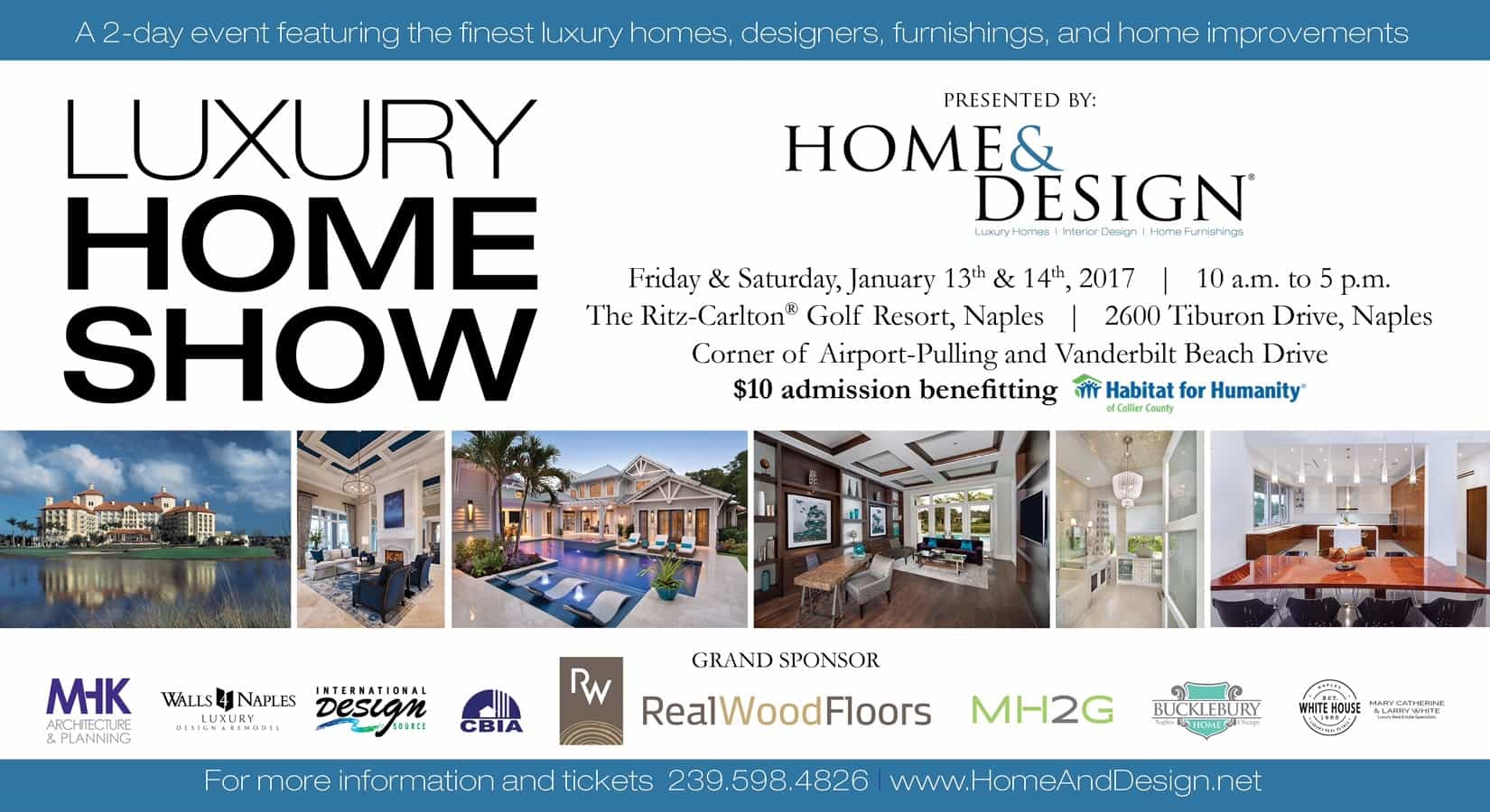 Join Us at the Luxury Home Show | BCB Homes, Naples, Florida