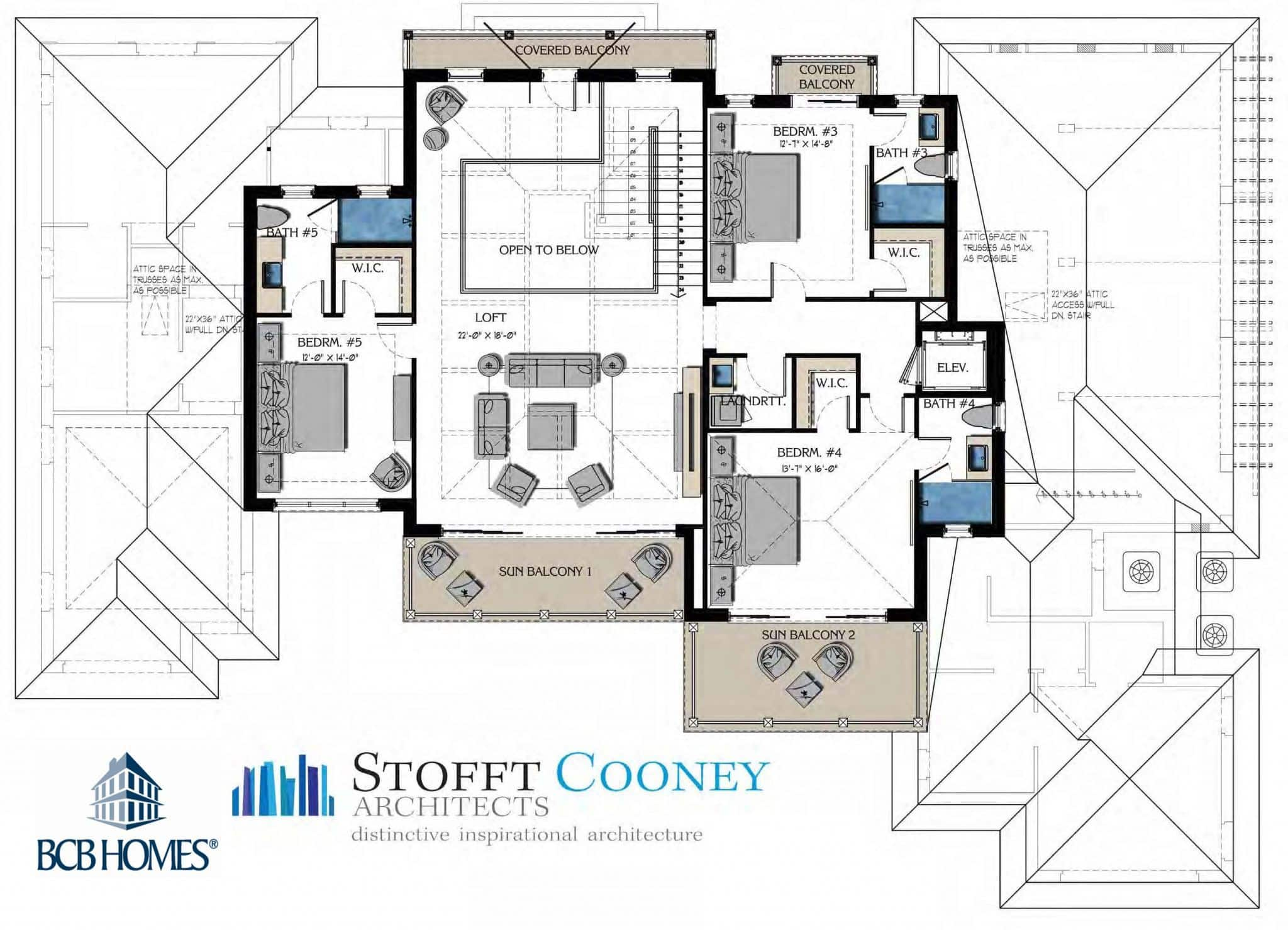 Second Floor Plan - 190 16th Ave S